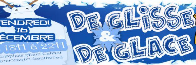 Soirée «De glisse et de glace» le 16 décembre