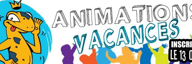 Programme des animations vacances de Toussaint 2018
