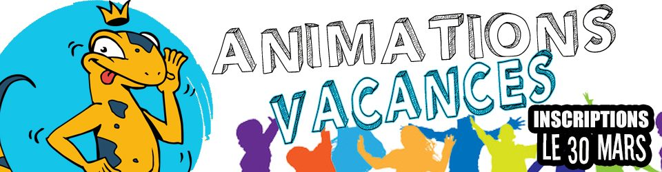 Programme des animations vacances d'Avril 2019