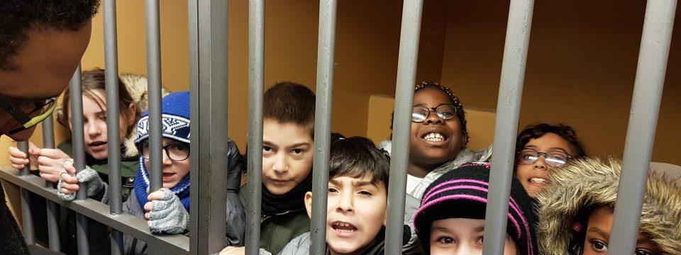 Les Favignolles en visite au Tribunal de Blois