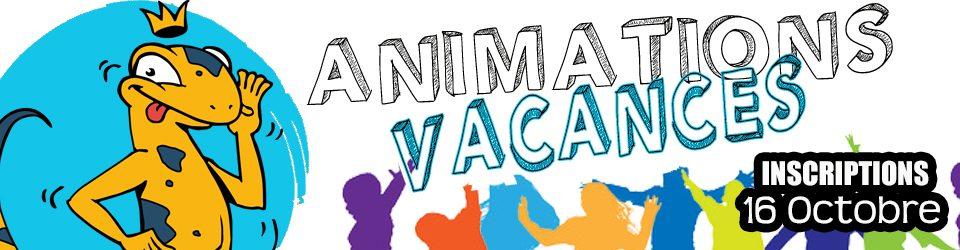 Animation vacances de Toussaint 2021